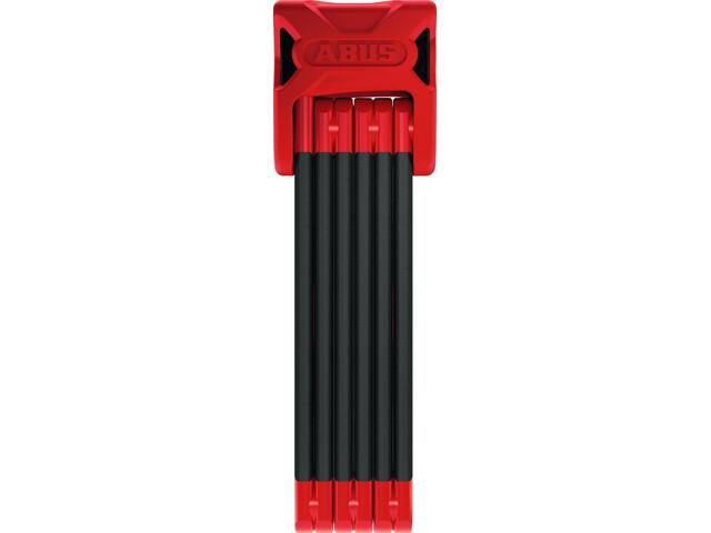 ABUS Bordo 6000/90 SH Antifurto pieghevole, nero/rosso